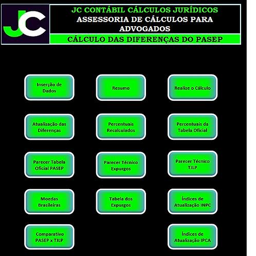 PLANILHA DE CÁLCULO PASEP COM LAUDO (LICENÇA VITALÍCIA)
