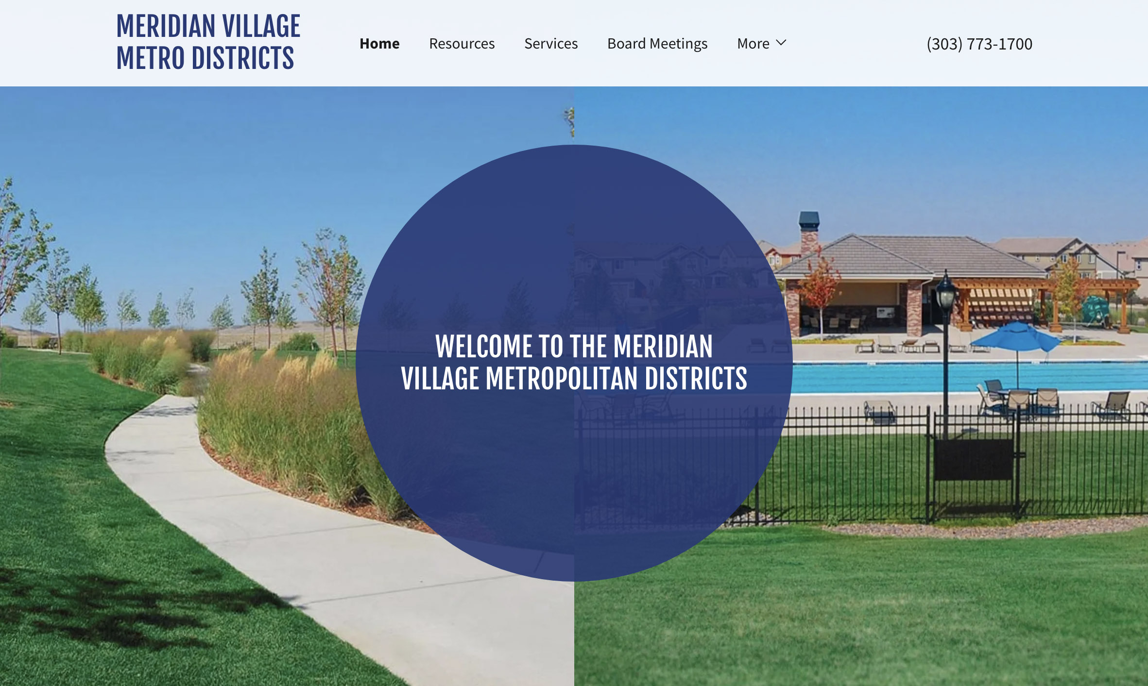 Meridian Village Metro District