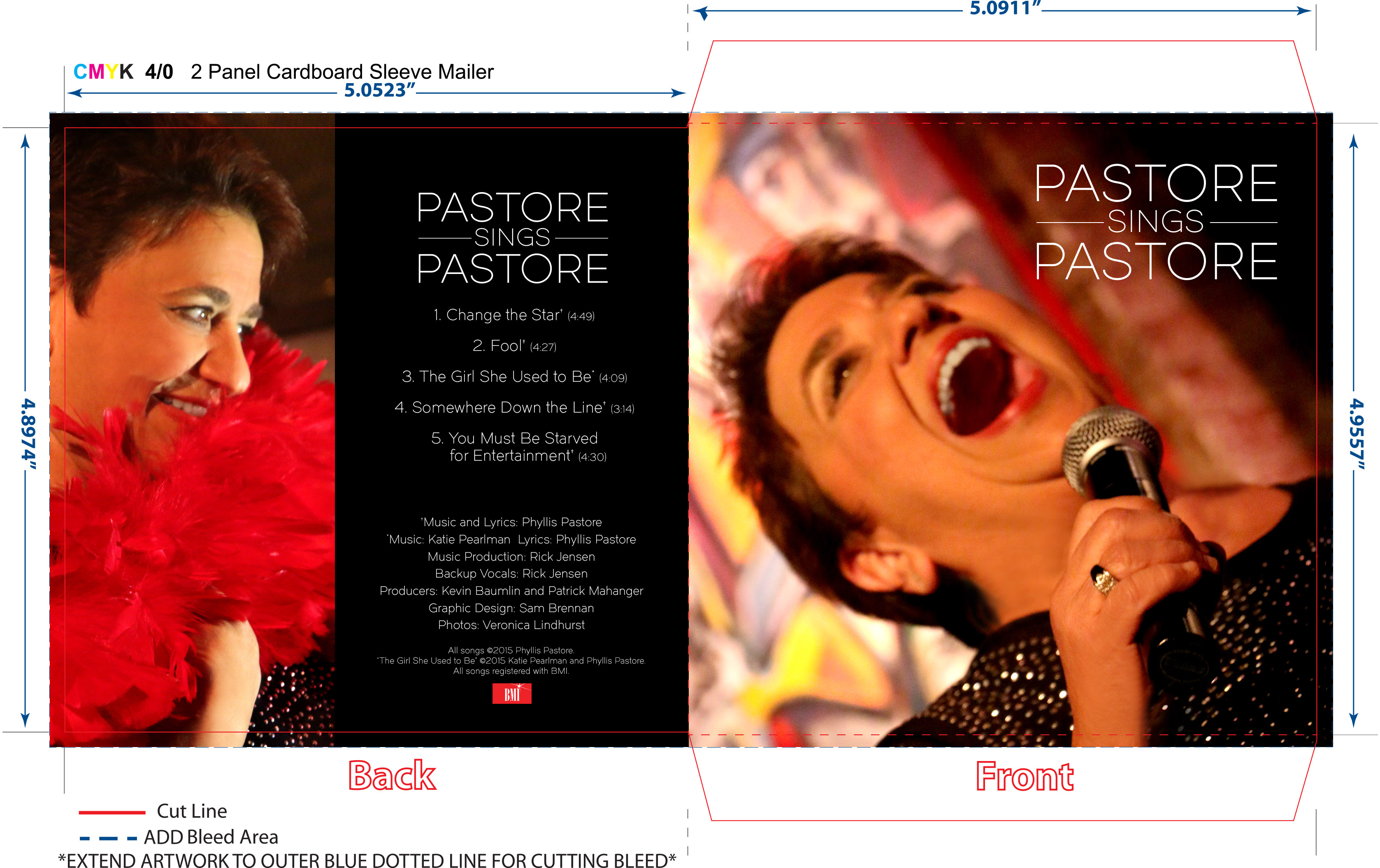 Pastore Sings Pastore