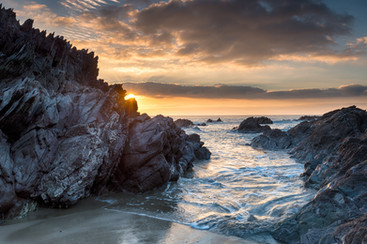 sunset-on-whitsand-bay-in-cornwall-PH5AE