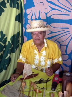 TAHITI, marché artisanat