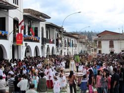 Chachapoyas, procession