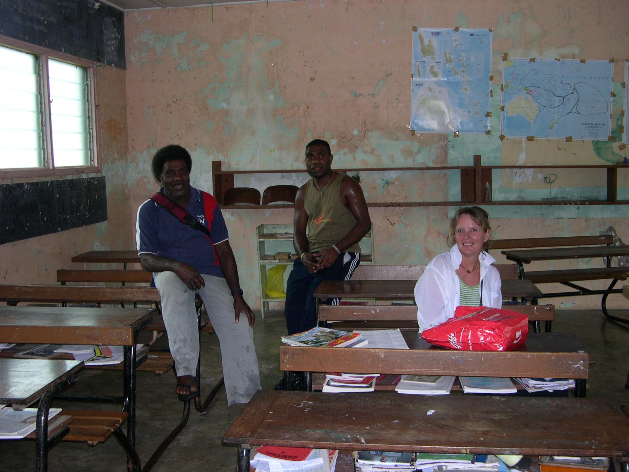 Vanualava Bank - école