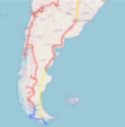 Itinéraire Argentine-Chili