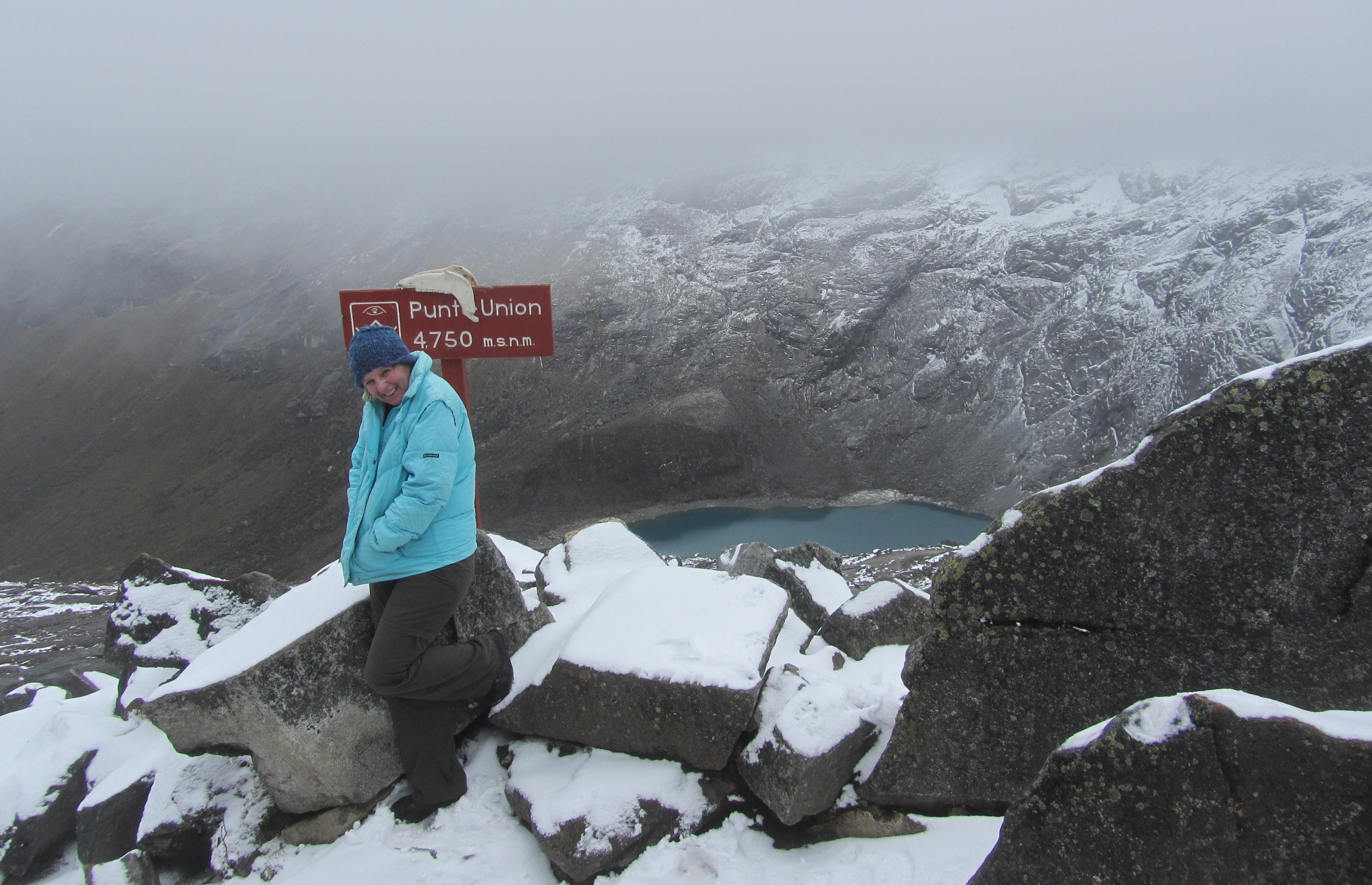 col de Punta Union (4760m)