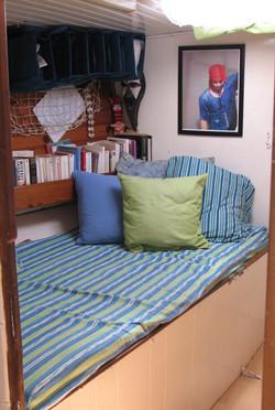 cabine avant couchette simple