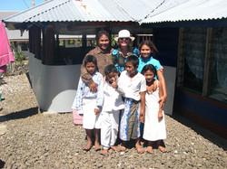 chez Filemu avec les enfants