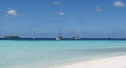 Chagos au mouillage