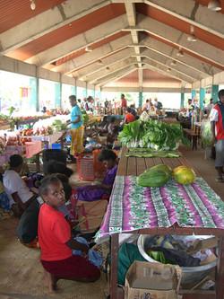 Efate -PortVila-marché