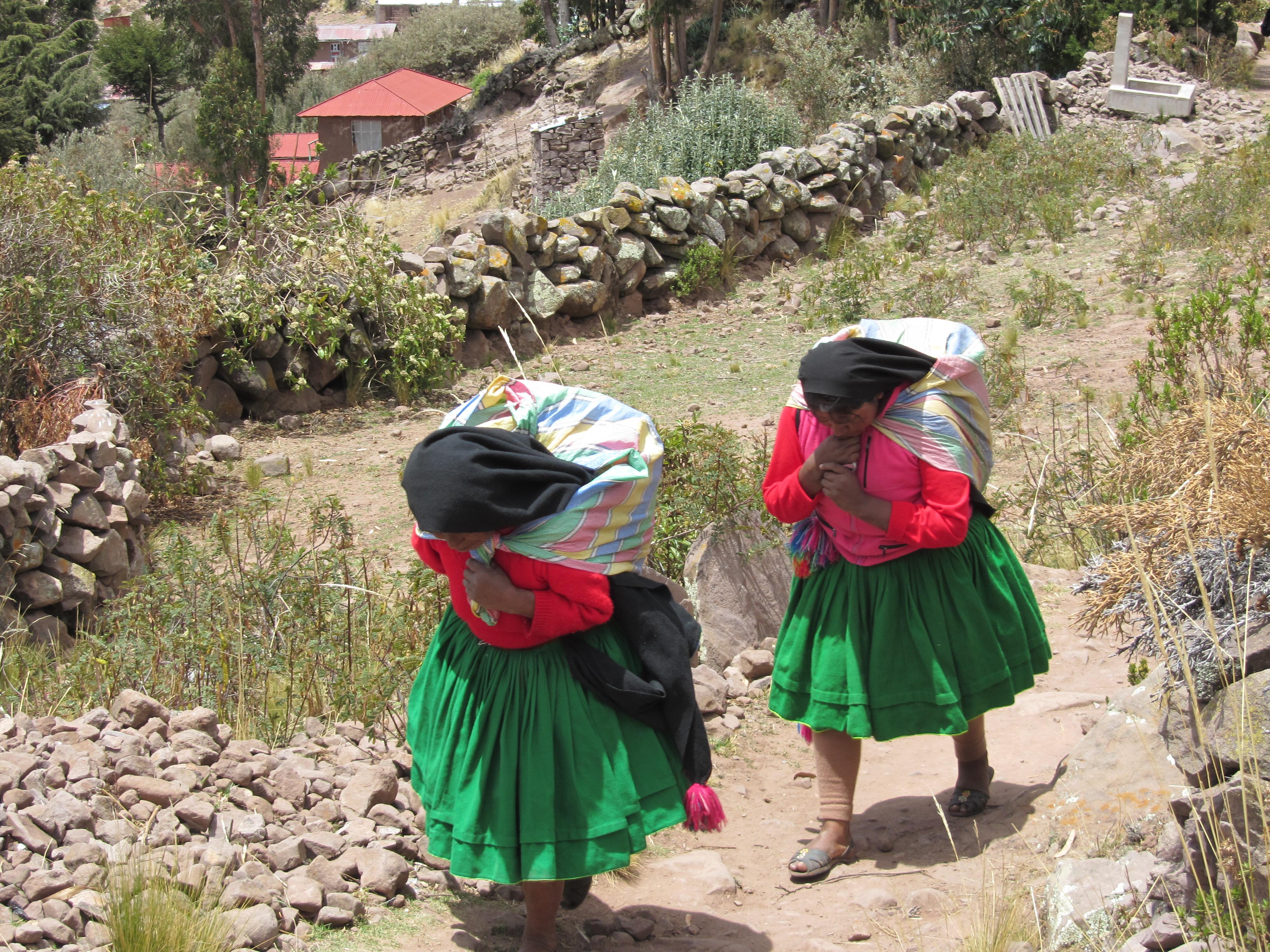 Île Taquile, lac Titicaca