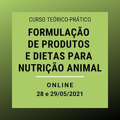 Formulação de produtos e dietas