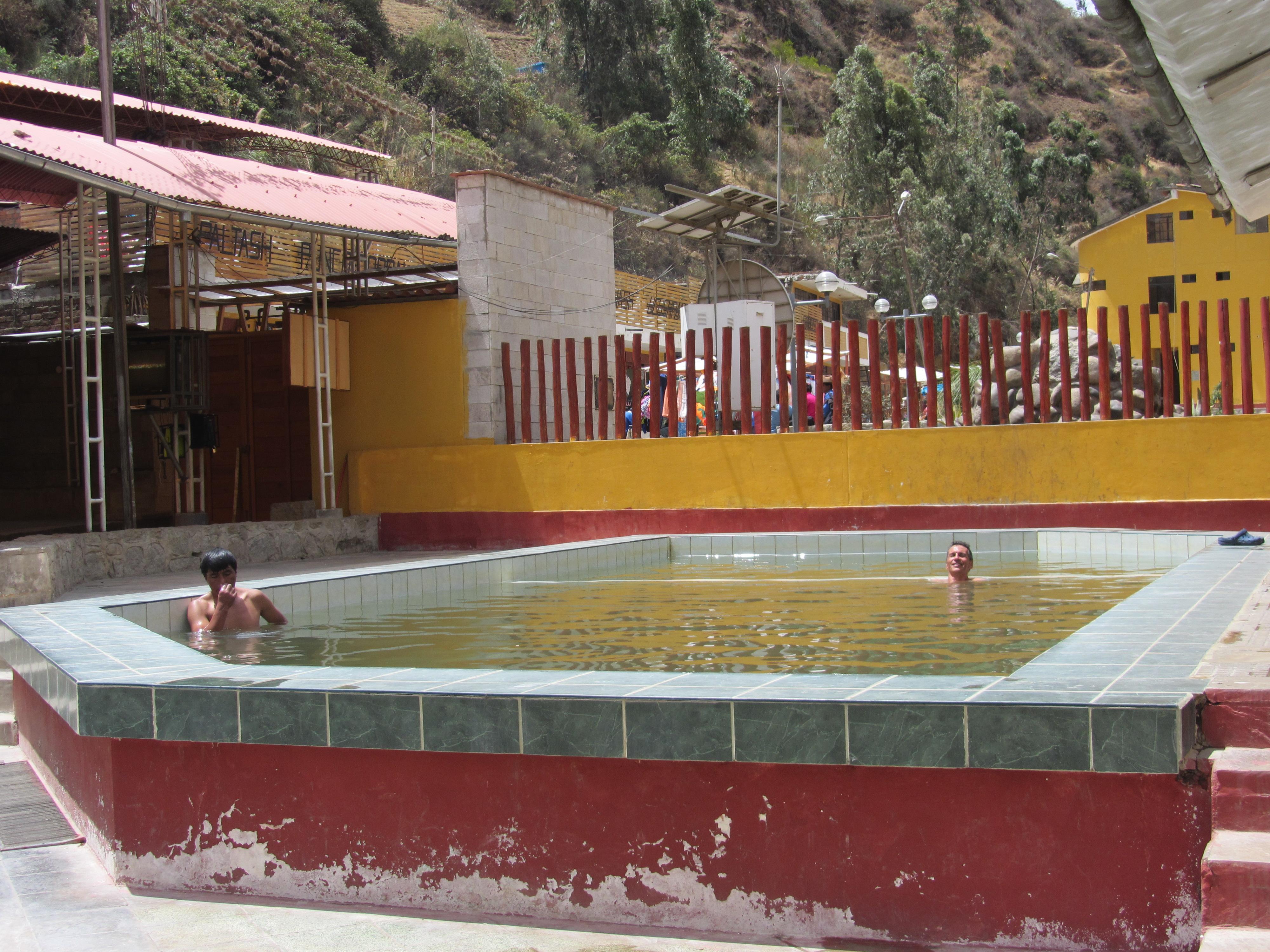 bains thermaux de Chancos