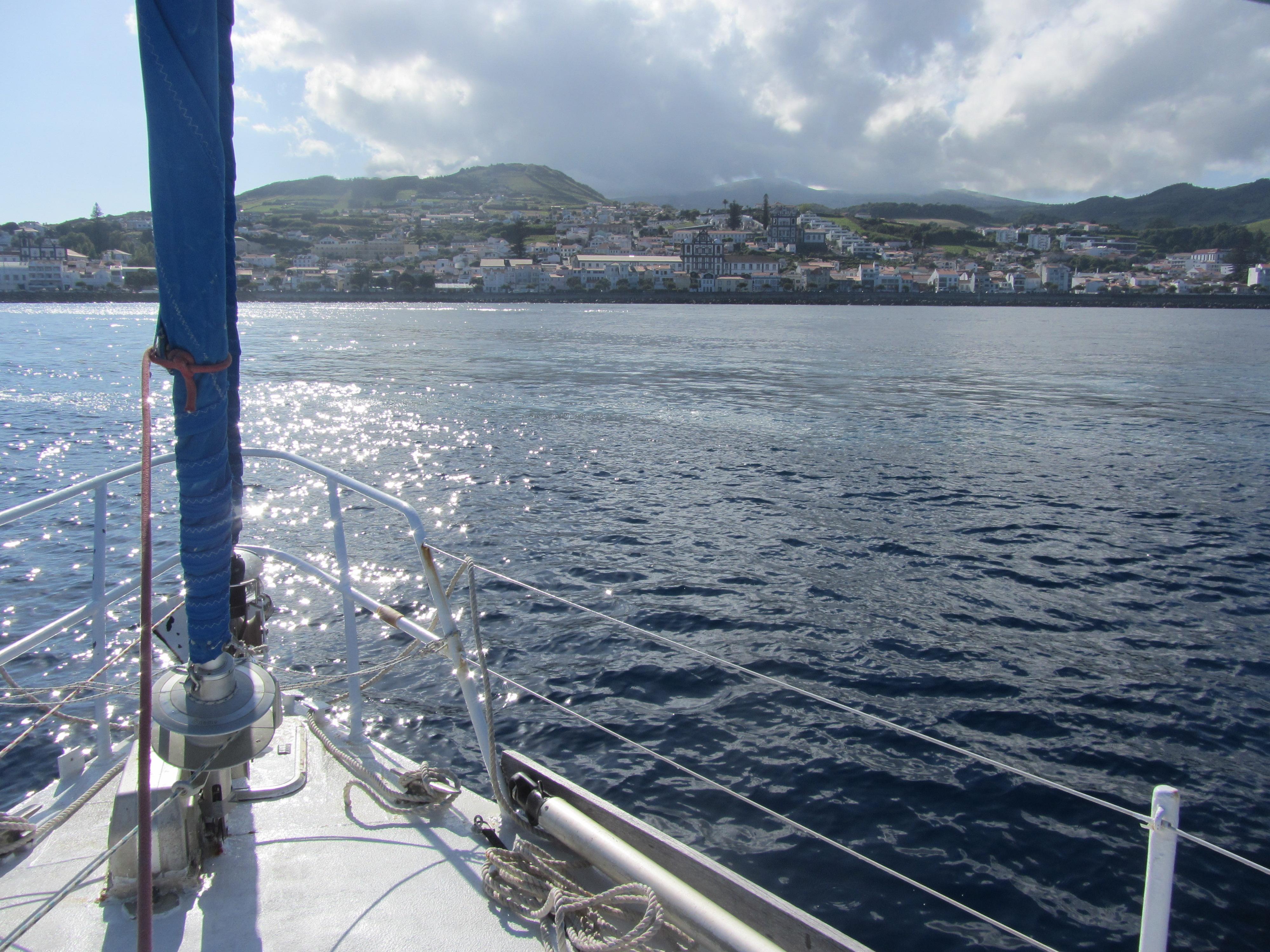 Arrivée sur Terceira