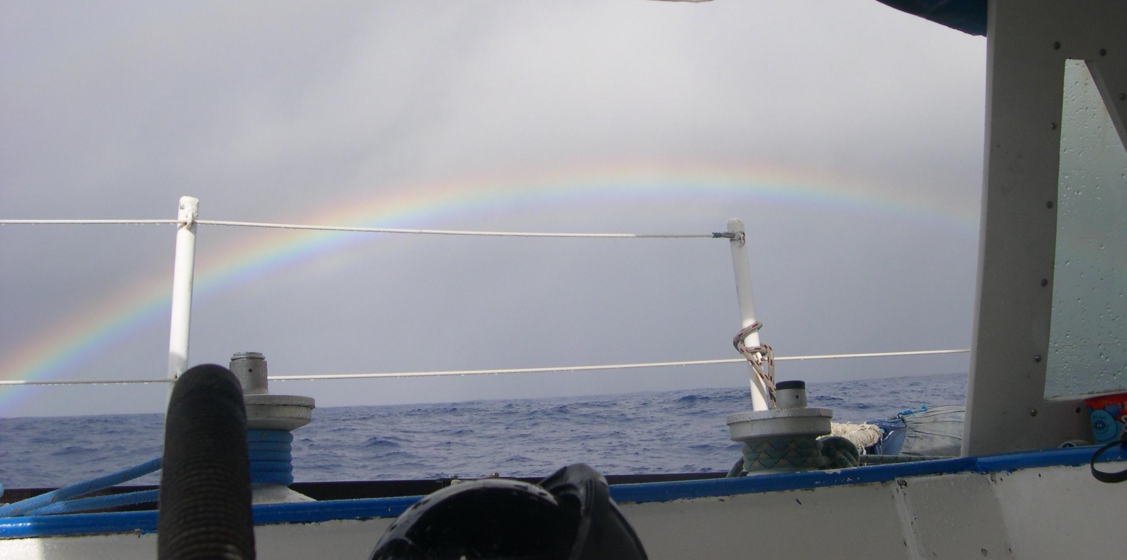 En traversée sur Suvarov, îles Cook