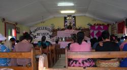 à l'église