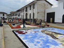 Chachapoyas, préparations procession