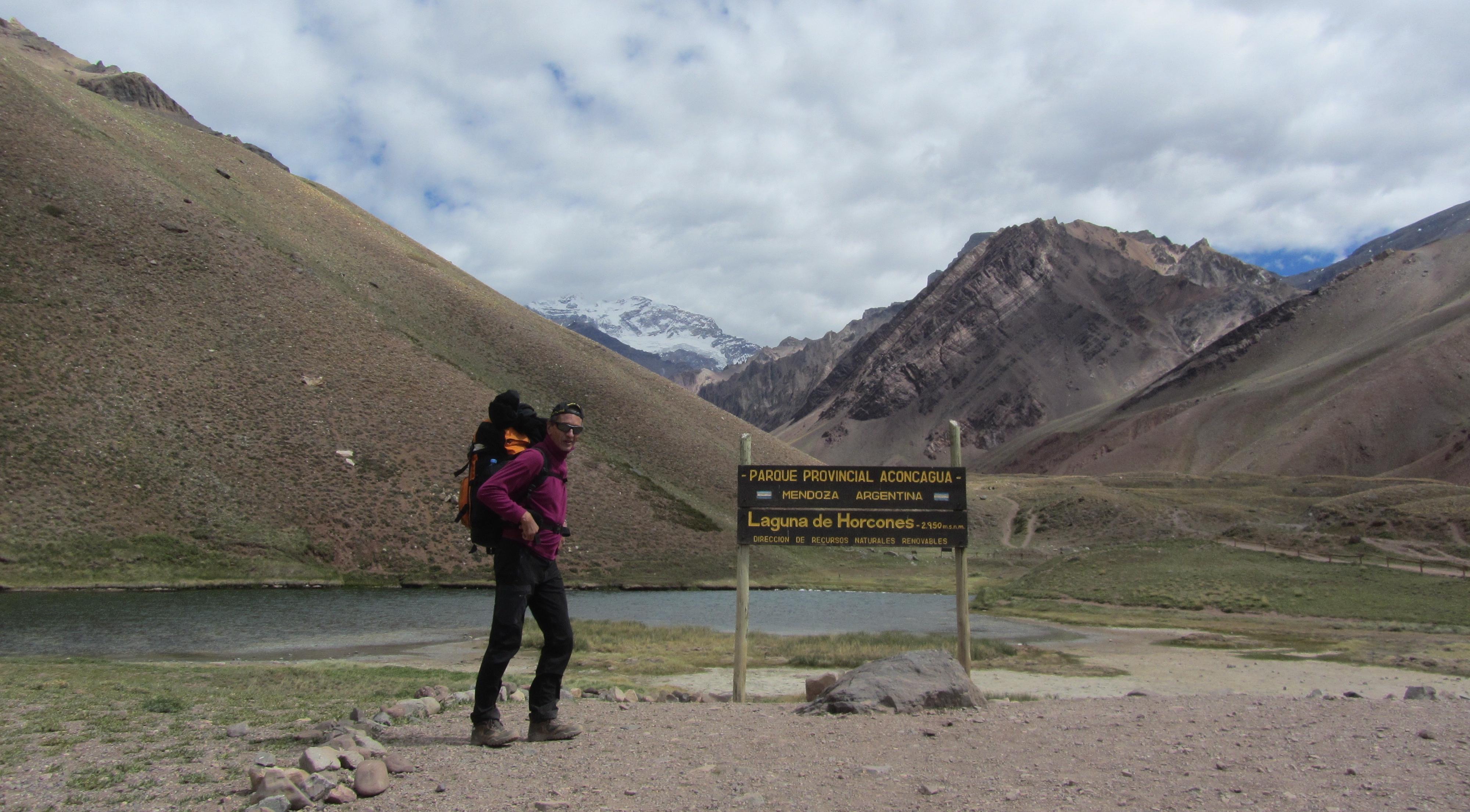 Entrée parc national de l'Aconcagua