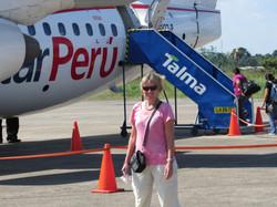 Embarquement pour Tarapoto