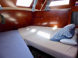 cabine arrière lit double