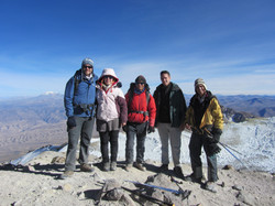 sommet du Chachani