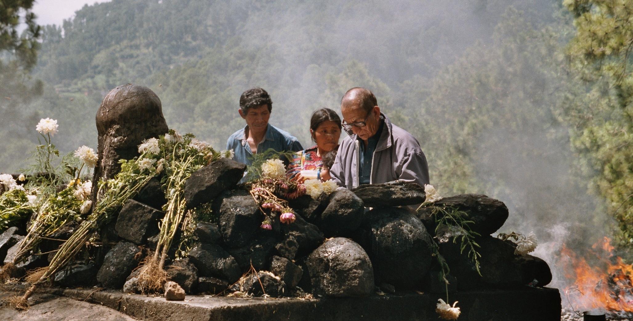 Chichicastenango - ceremonie maya