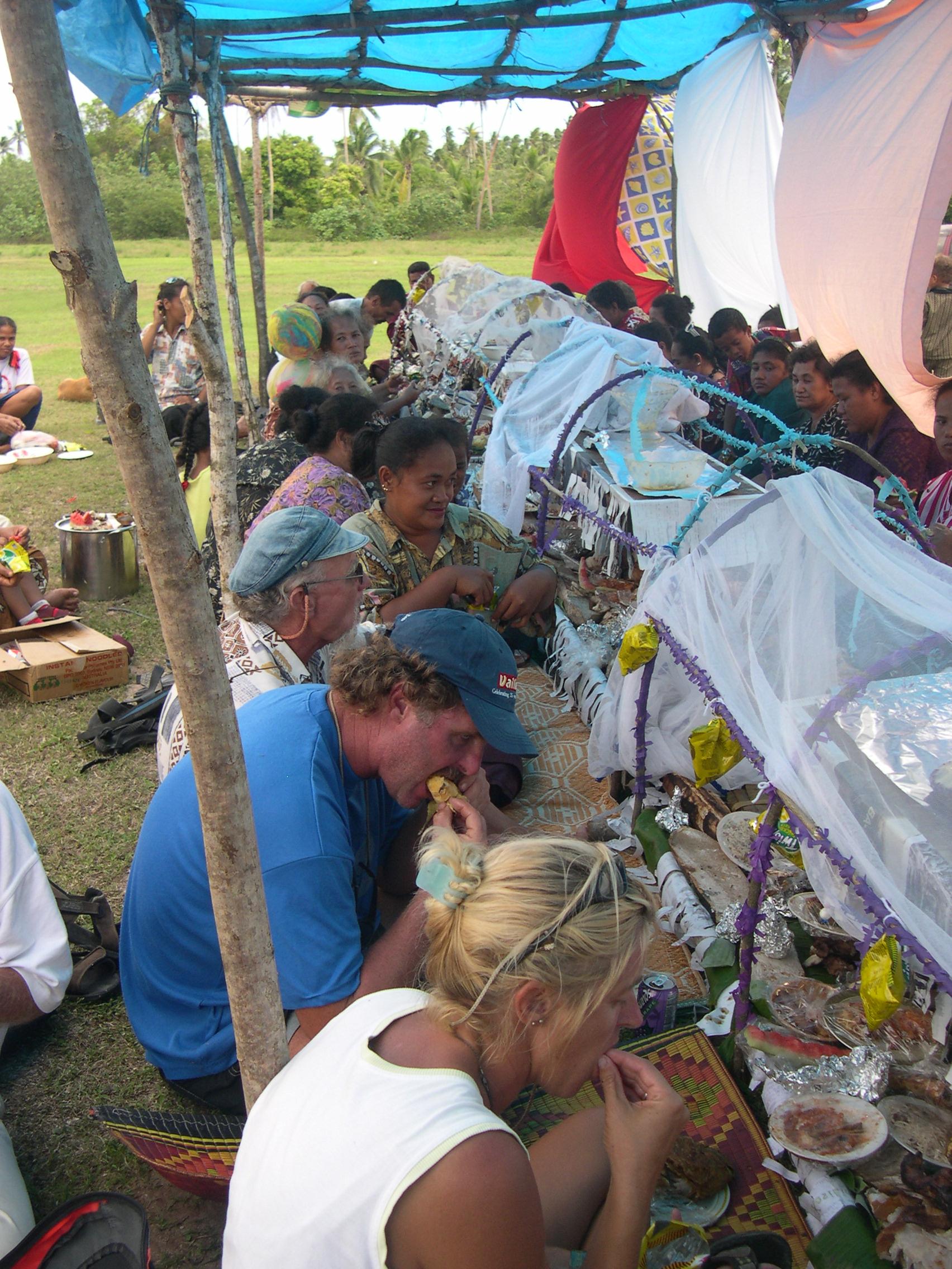 Fête à Niuatoputapu