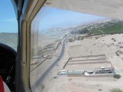Survol des lignes de Nazca