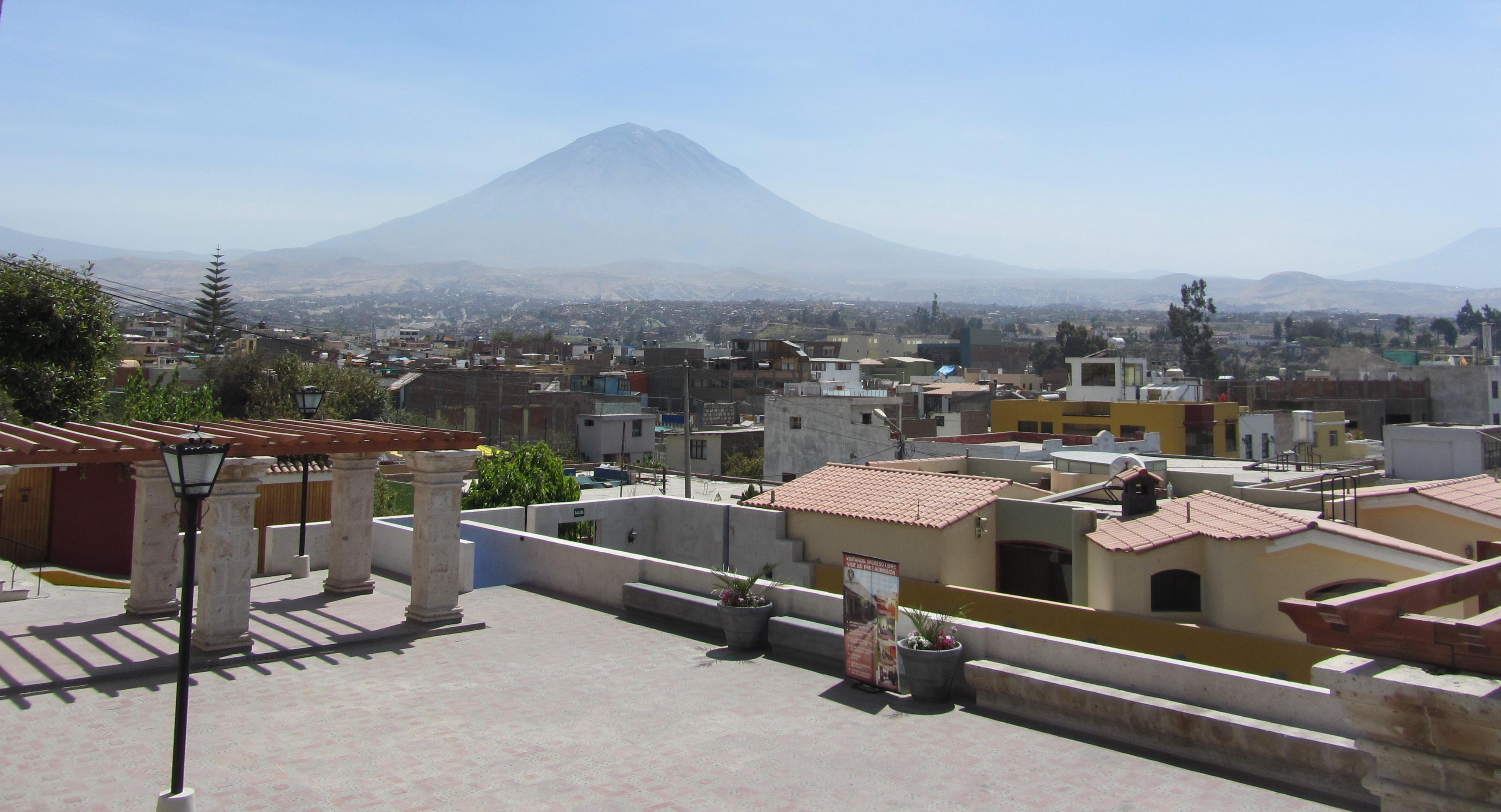 Volcan Misti 5822 m.