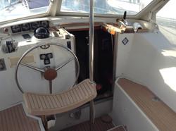 Cockpit & descente