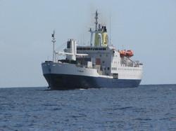 Ste Helene, bateau ravitailleur