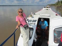 En panne sur l'Amazone !