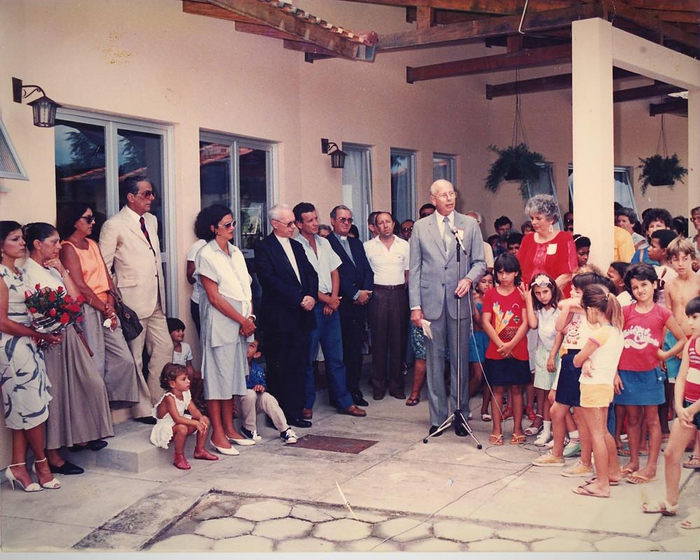 Inauguração do CVPI em 07 de março de 1987