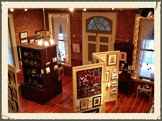 Red BRick Gallery in Foxburg PA