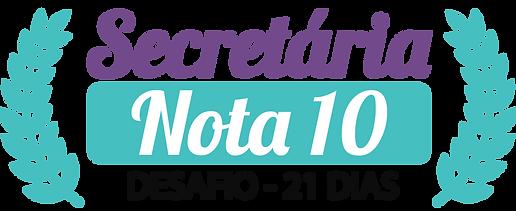 Logo Secretária Nota 10.png