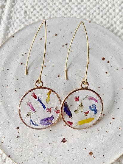 Confetti Small Drop Earrings