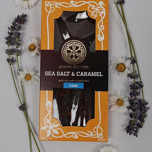 Vegan Sea Salt & Caramel Dark Chocolate