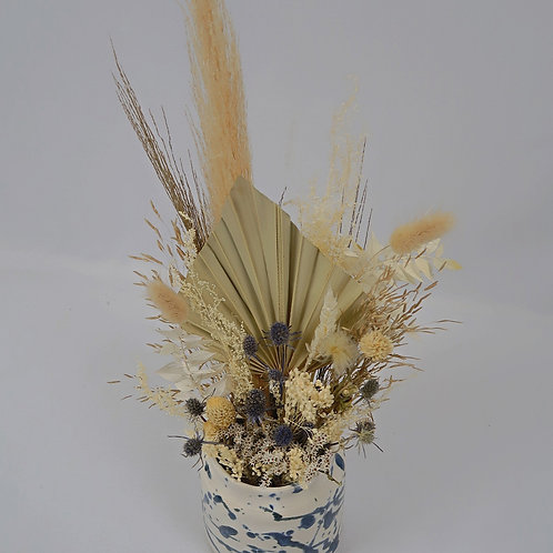 Small Paint Splatter Ella Fletcher Vase Arrangement