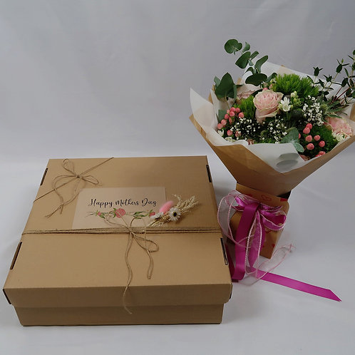 Mother's Day Gift Box & Flowers