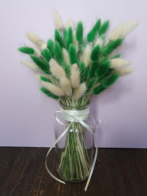 Green & White Bunny Bottle