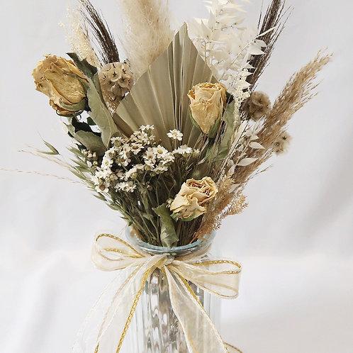 Neutral Dried Vase Arrangement