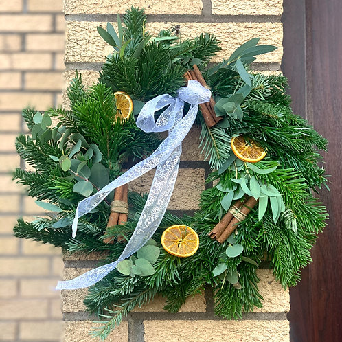 Orange & Cinnamon Wreath