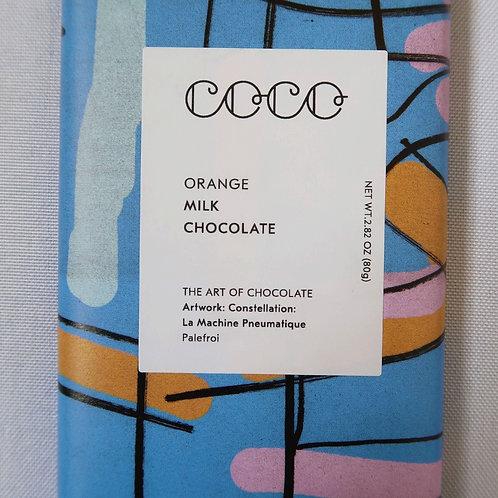 COCO Orange Milk Chocolate