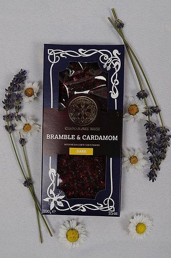 Vegan Bramble & Cardamon Dark Chocolate