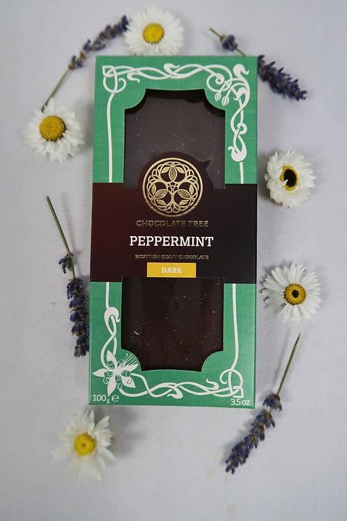 Vegan Peppermint Dark Chocolate