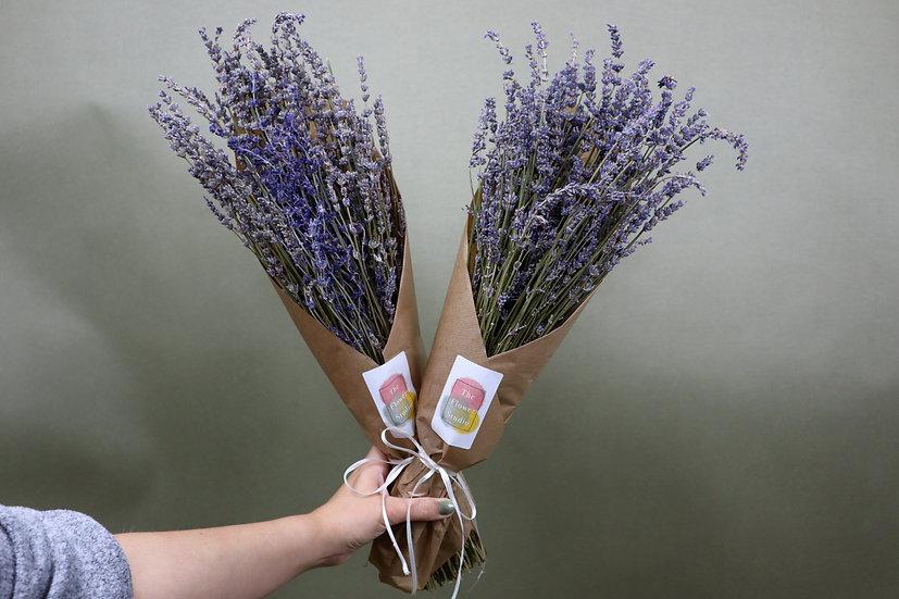 Dried Lavender Wrap