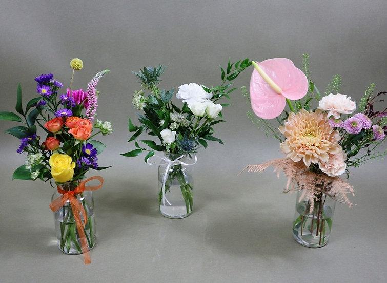 Seasonal Bud Vases