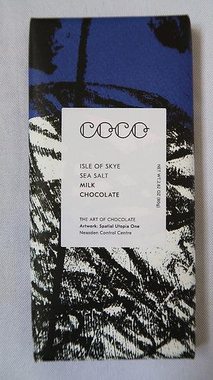 Isle Of Skye Sea Salt Milk Chocolate