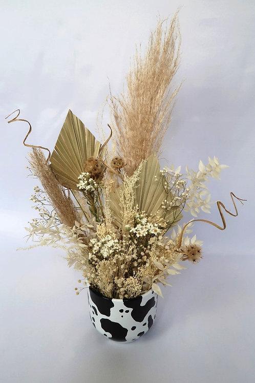 Nude Cow Vase Arrangement