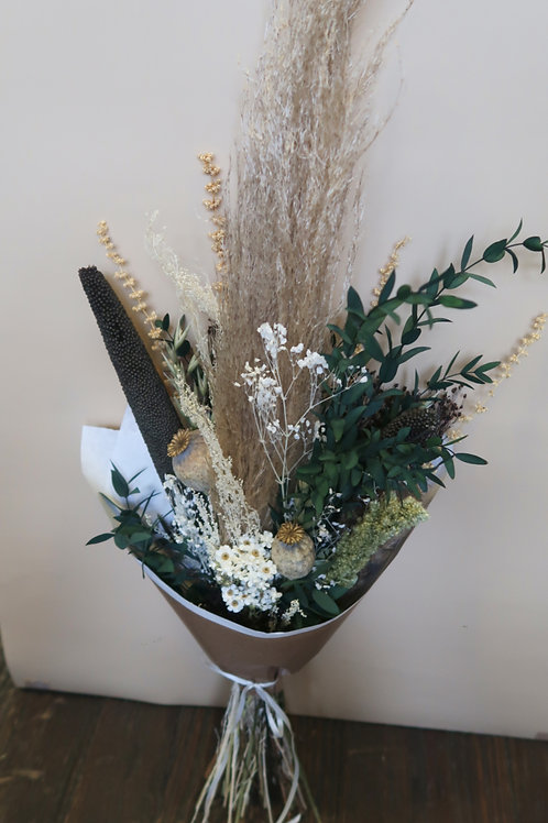 Forest Green Dried Bouquet