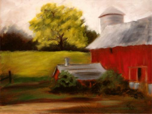 Wisconsin Red Barn